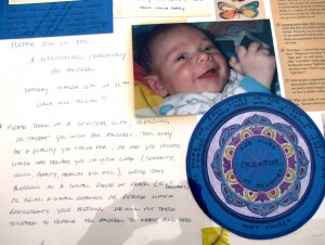 Baby Andrew Naming Picture Collage